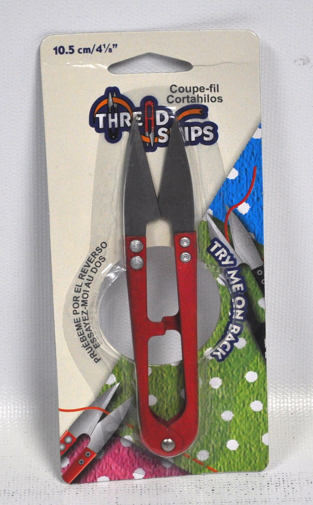 4125 inch red metal thread snips b4801