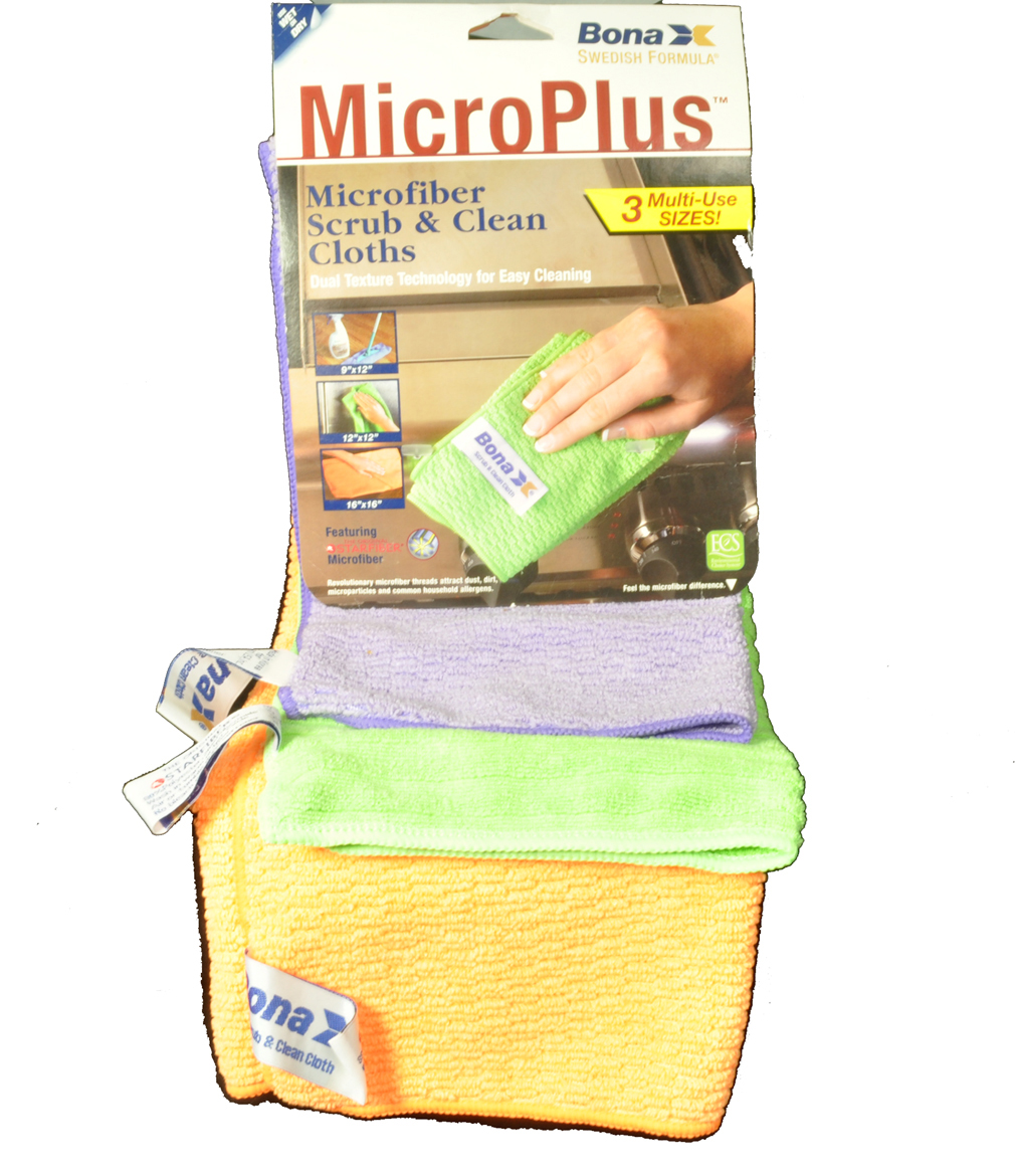 Bona X MicroPlus Microfiber Scrub, Clean Cloths Microfiber Scrub & Clean Cloths at Sears.com