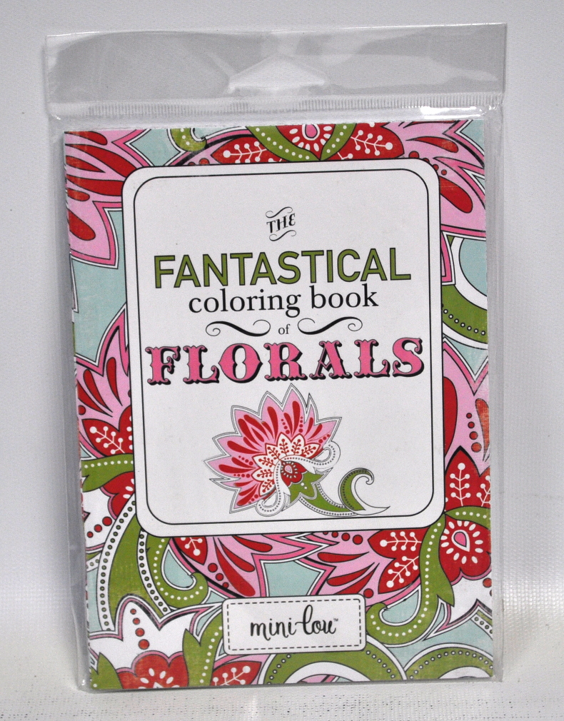 the fantastical coloring book of florals