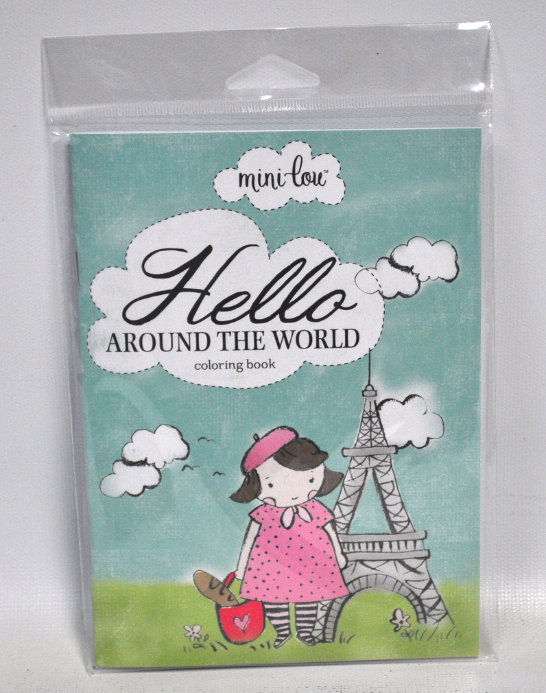 hello around the world coloring book