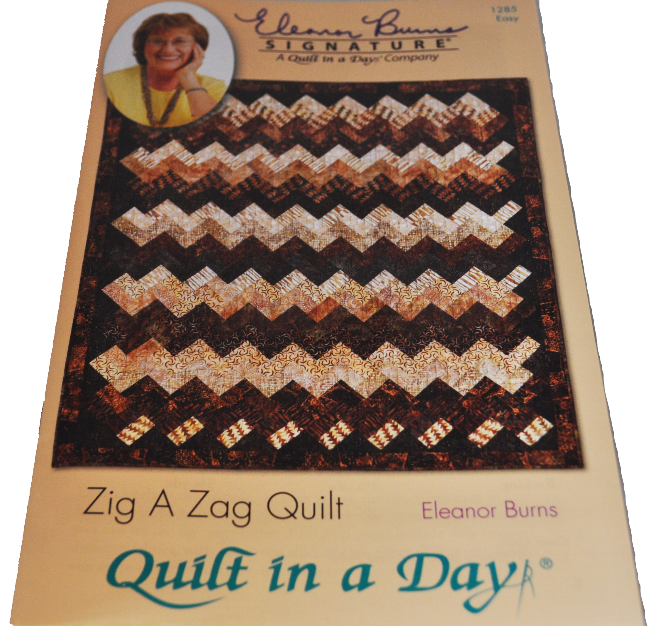 Eleanor Burns Zig A Zag Quilt in a Day Pattern at Sears.com