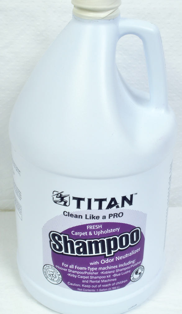 Titan Carpet Upholstery Shampoo Gallon Size at Sears.com