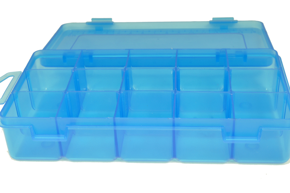 sewing storage box 15 compartments w011m34b