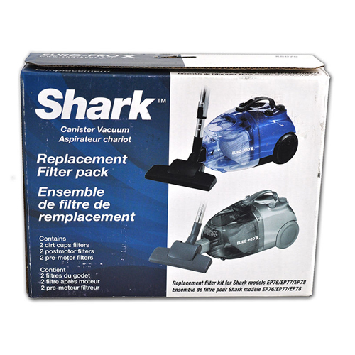 Shark canister vacuum replacement filter pack dixon 39 s for Shark vacuum motor replacement