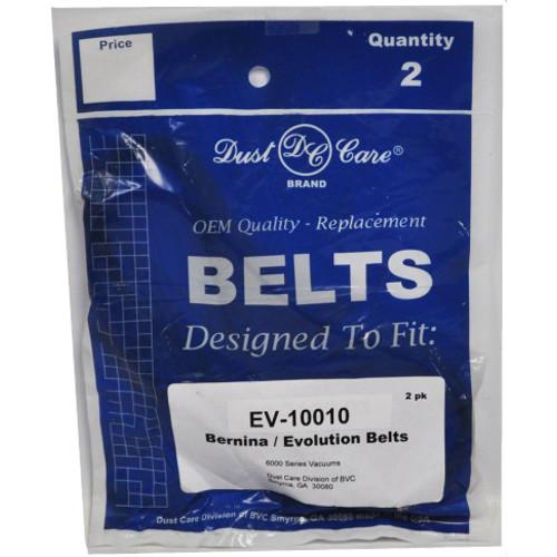 Bernina Upright Vacuum Cleaner Belts 2 Belts In Pack