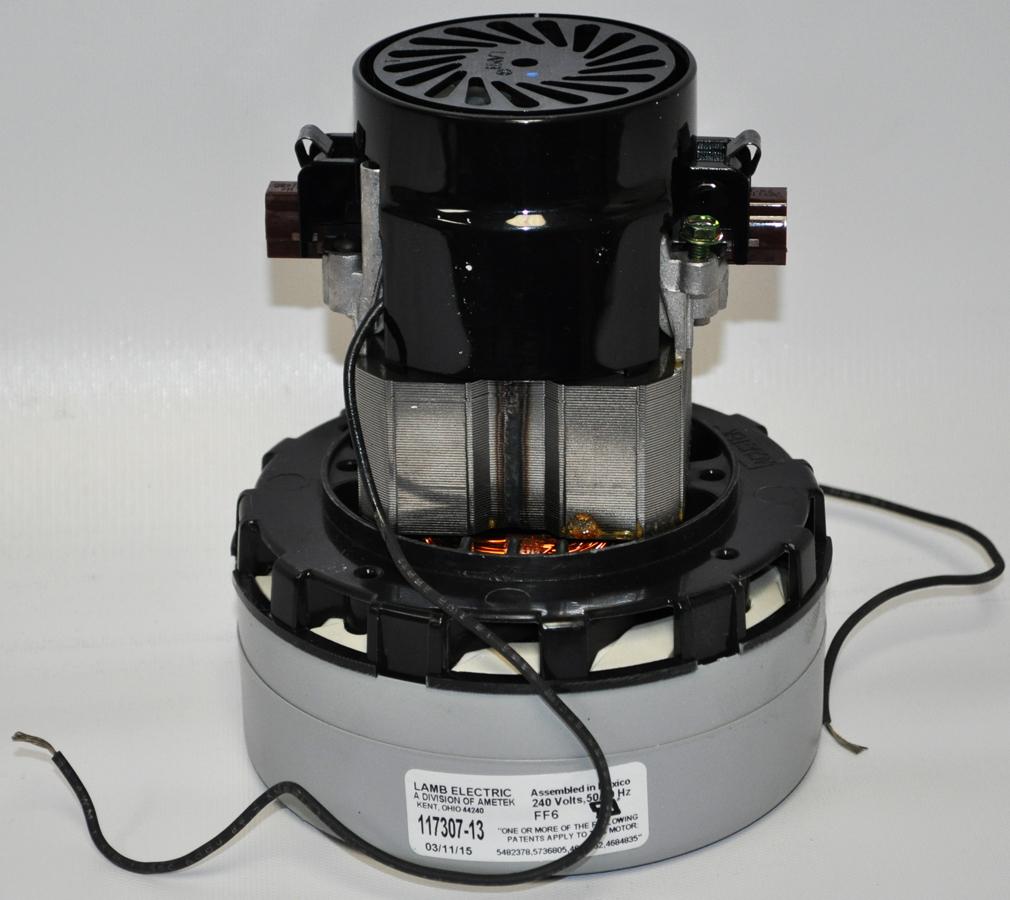 Ametek lamb 2 stage 240 volt acustek vacuum motor 117307 for 2 stage vacuum motor