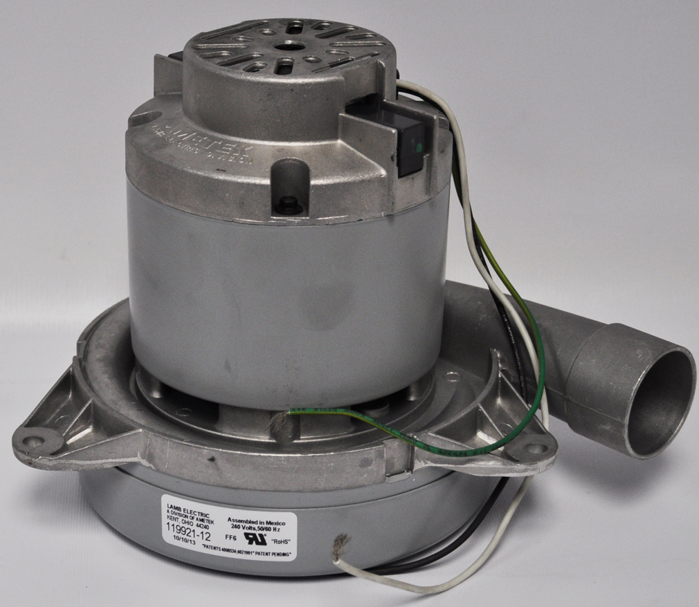 Ametek lamb 7 2 inch 2 stage 240 volt motor 119921 12 vacuum and Ametek lamb motor