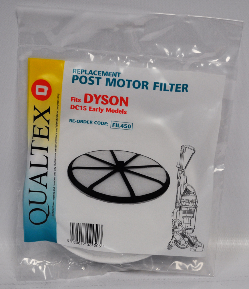 Dyson Dc15 Post Motor Filter Fil450 Vacsewcenter