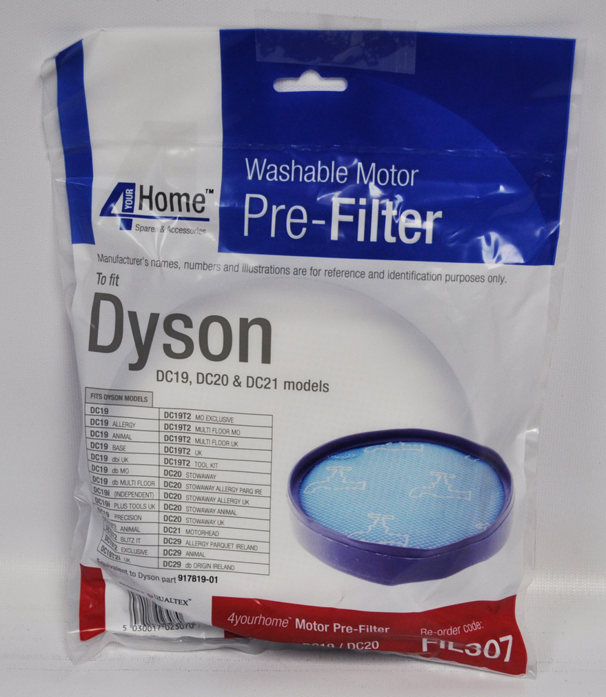 Dyson dc19 dc20 dc21 pre motor washable filter fil307 for Dyson pre motor filter