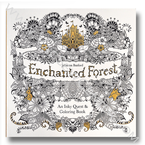 Johanna Basfords Enchanted Forest An Inky Quest And
