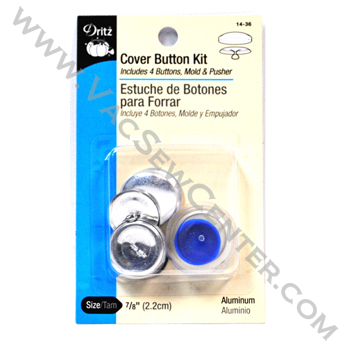 Dritz cover button kit 14 36 dixon 39 s vacuum and sewing for Dritz craft cover button kit size 36