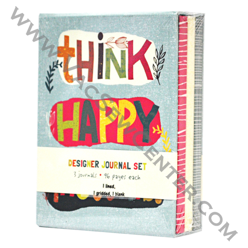 Think Happy Thoughts Designer Journal Set - Dixon's Vacuum ...