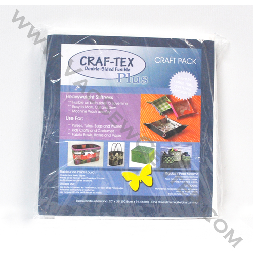 Bosal Craf Tex Double Sided Fusible Plus Craft Pack 437f20